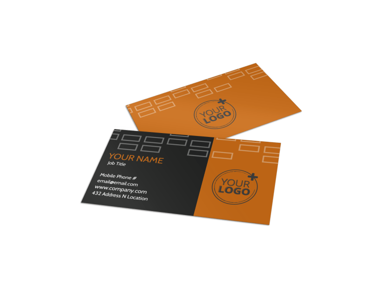 Only The Best Hotels Business Card Template Preview 1