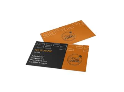 Only The Best Hotels Business Card Template preview