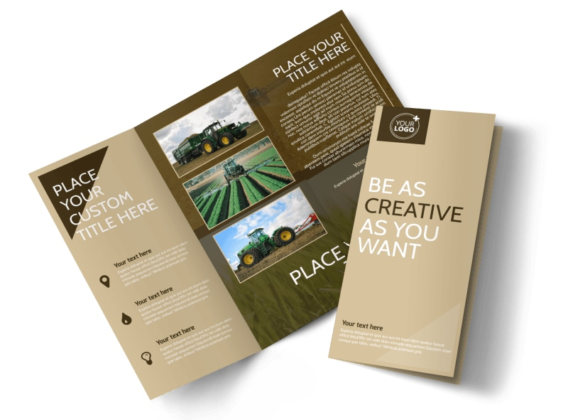 Agriculture Consulting Brochure Template Preview 4