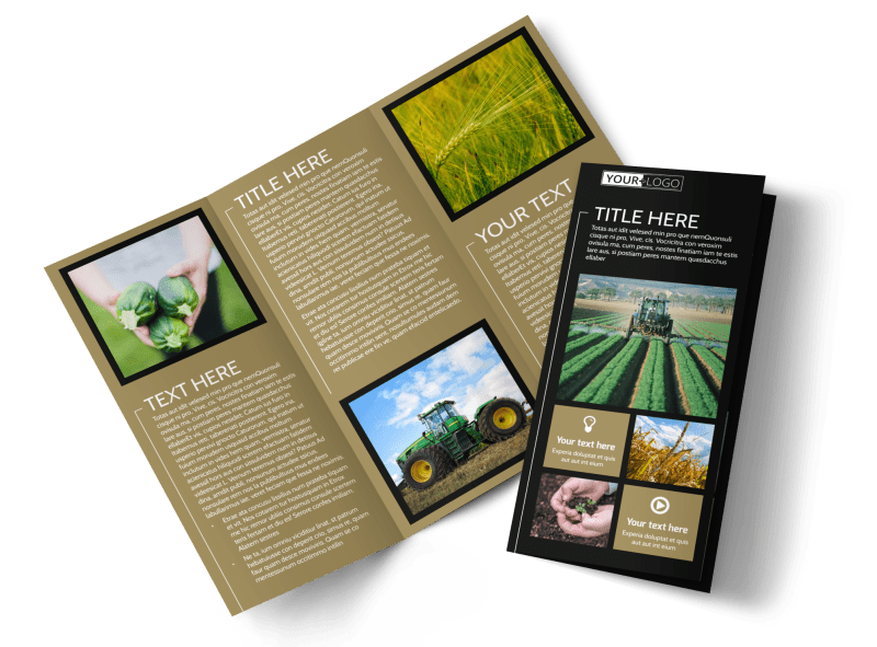 Farm Consultant Brochure Template Preview 1