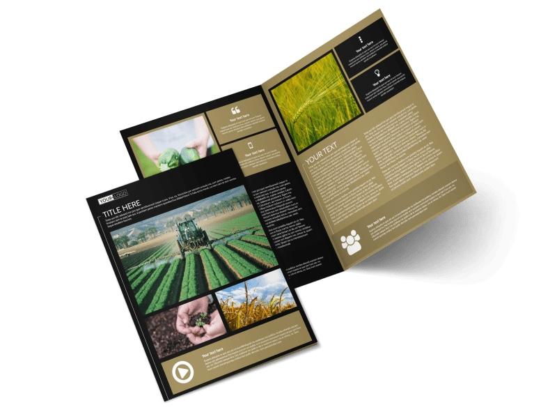Farm Consultant Brochure Template Preview 4