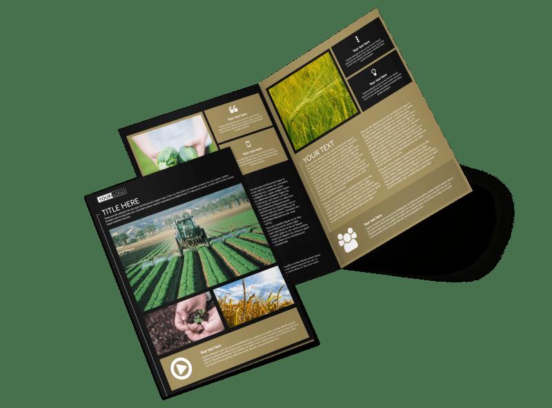 Farm Consultant Brochure Template Preview 1