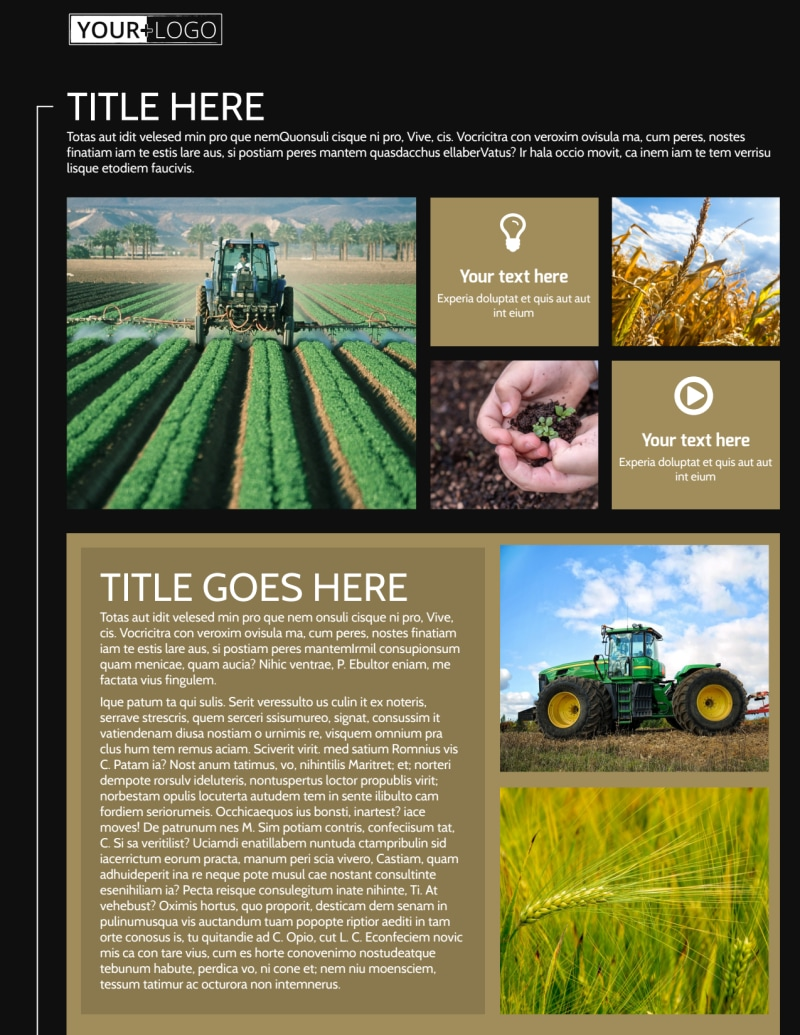 Farm Consultant Flyer Template Preview 2