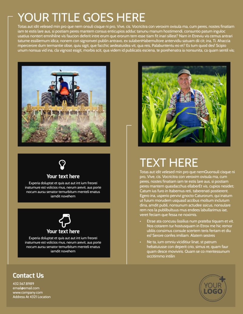 Farm Consultant Flyer Template Preview 3