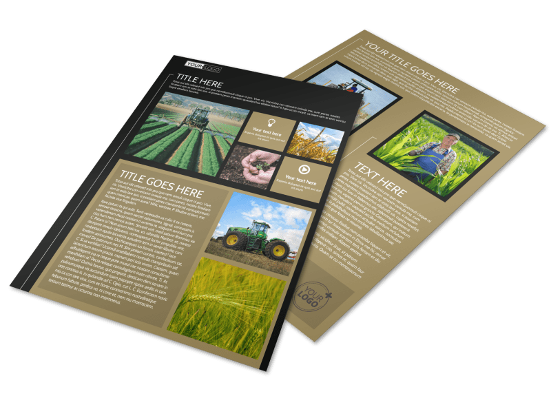 Farm Consultant Flyer Template Preview 1
