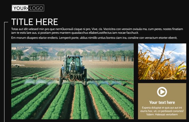 Farm Consultant Postcard Template Preview 2