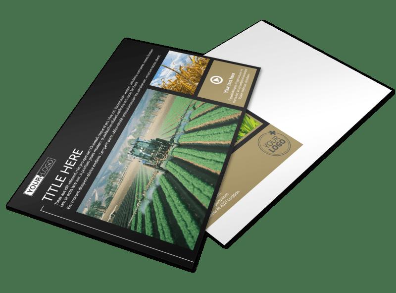 Farm Consultant Postcard Template Preview 1
