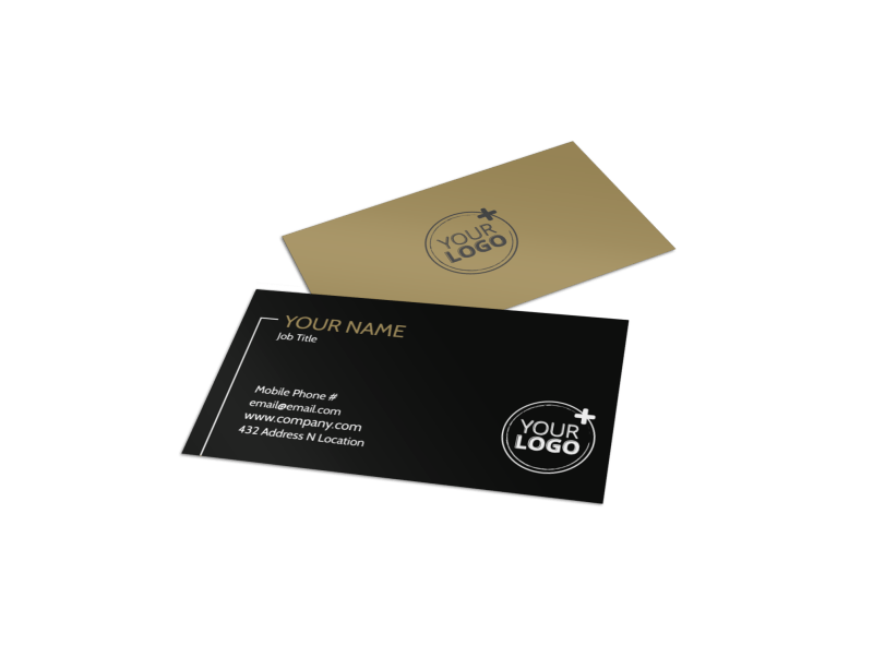 Farm Consultant Business Card Template Preview 1