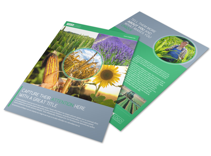Crop Protection Service Flyer Template Preview 4