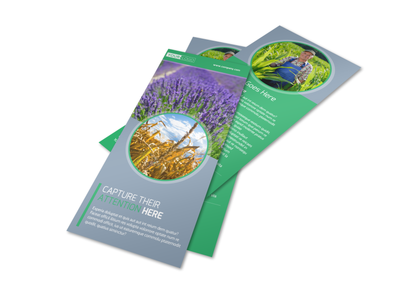 Crop Protection Service Flyer Template Preview 1