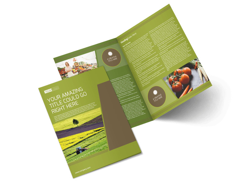 Agricultural Marketing Services Brochure Template Preview 4