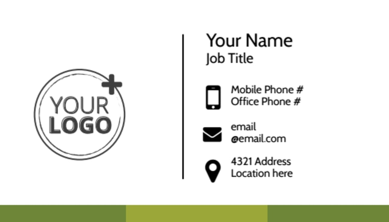 Agricultural Marketing Services Business Card Template Preview 2