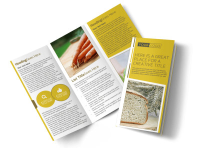 Agricultural Product Distributor Tri-Fold Brochure Template preview