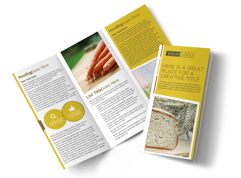 Agricultural Product Distributor Brochure Template Preview 1
