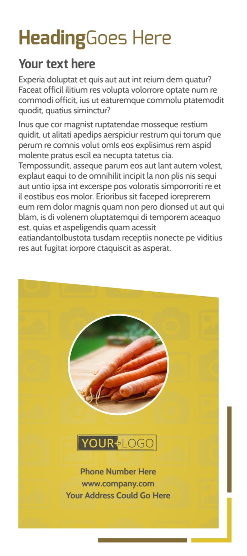 Agricultural Product Distributor Flyer Template Preview 3