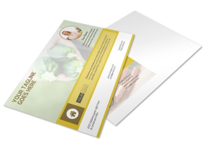 Agricultural Product Distributor Postcard Template preview