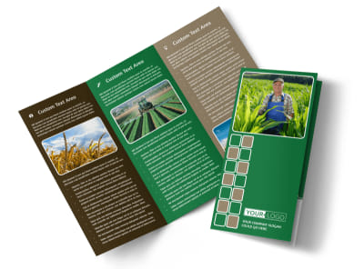 Agribusiness Consulting Tri-Fold Brochure Template