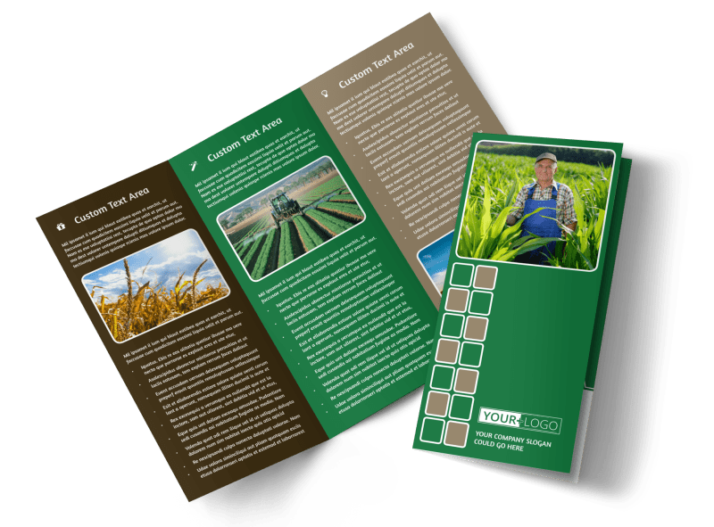 Agribusiness Consulting Brochure Template Preview 1