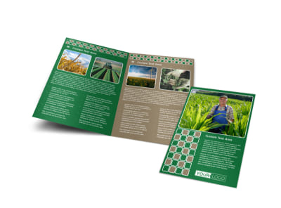 Agribusiness Consulting Bi-Fold Brochure Template