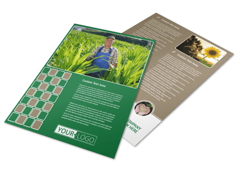 Agribusiness Consulting Flyer Template