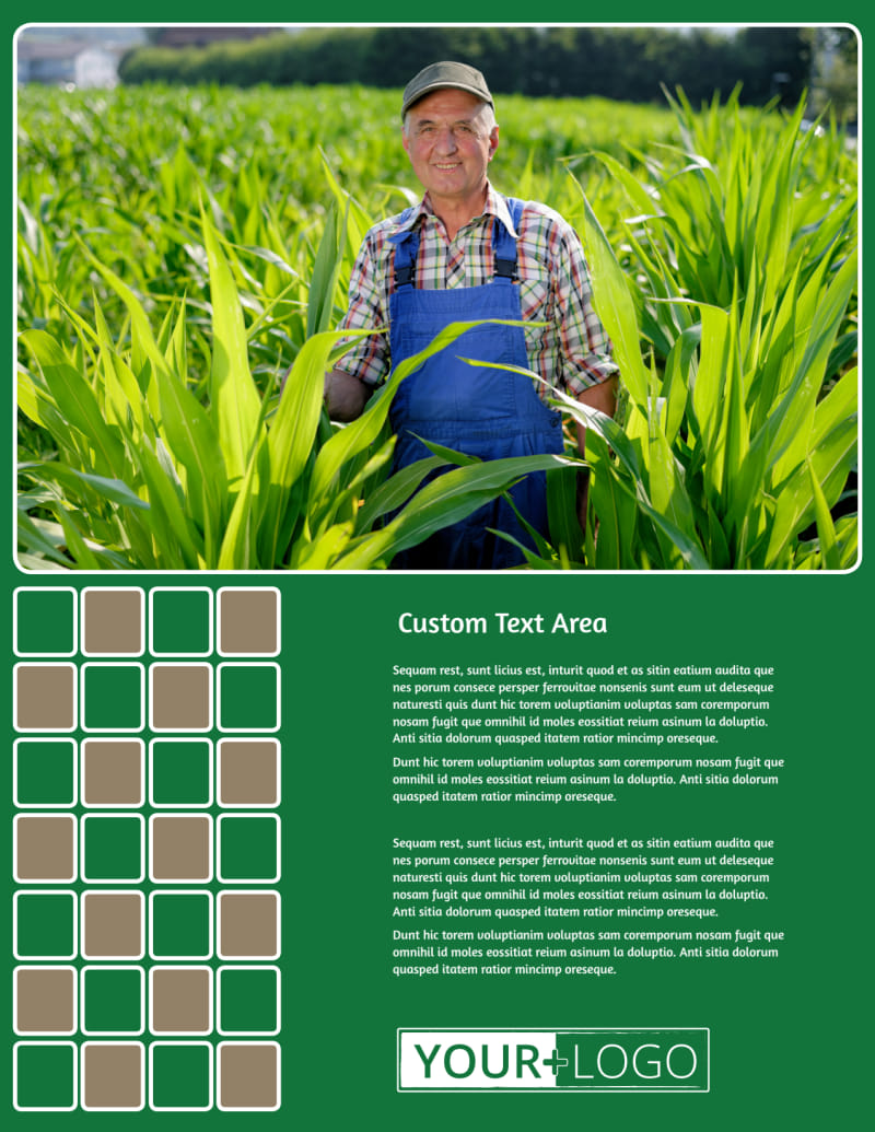 Agribusiness Consulting Flyer Template Preview 2