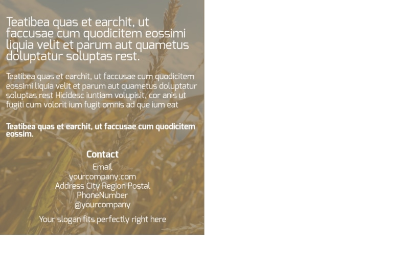 Agribusiness Consulting Postcard Template Preview 3