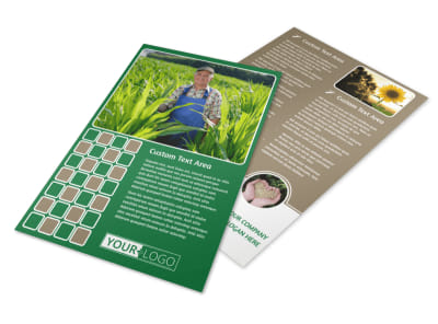 Agribusiness Consulting Flyer Template preview