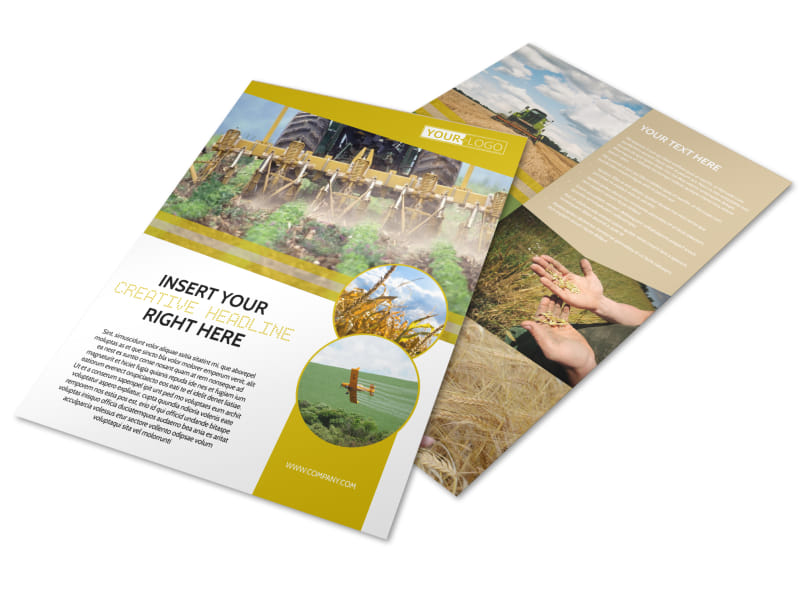 Crop Protection Company Flyer Template Preview 4