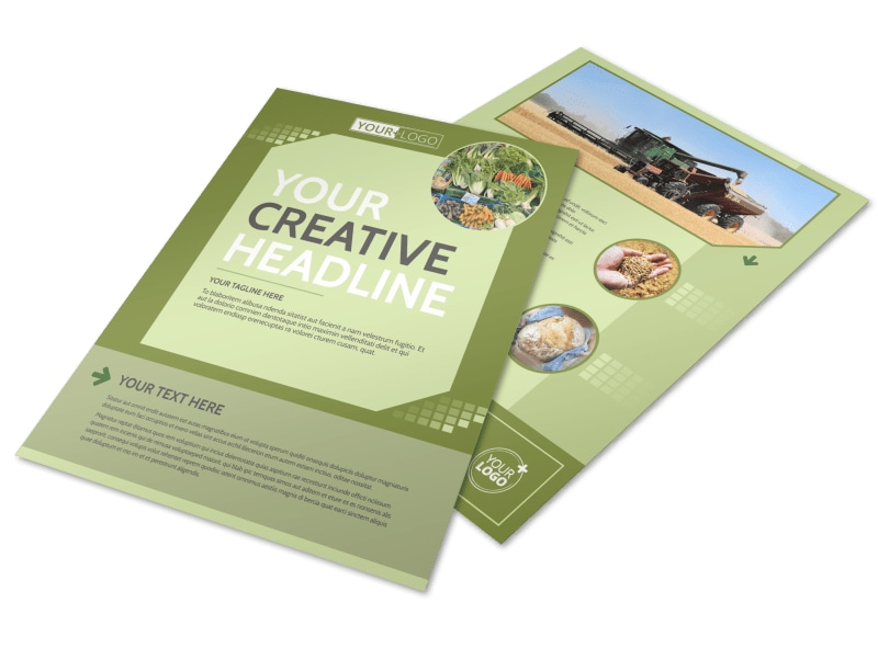 Agricultural Marketing Firm Flyer Template Preview 4