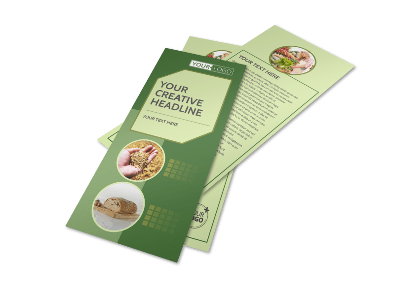 Agricultural Marketing Firm Flyer Template Preview 1