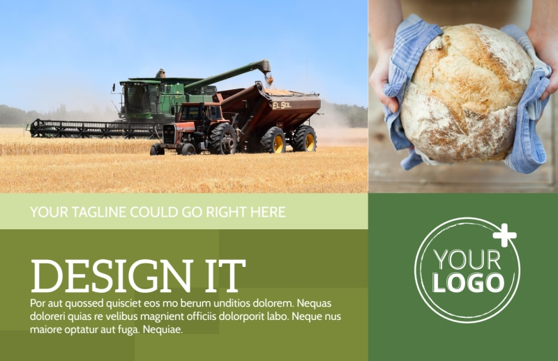 Agricultural Marketing Firm Postcard Template Preview 2