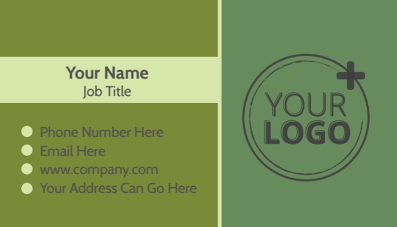 Agricultural Marketing Firm Business Card Template Preview 2