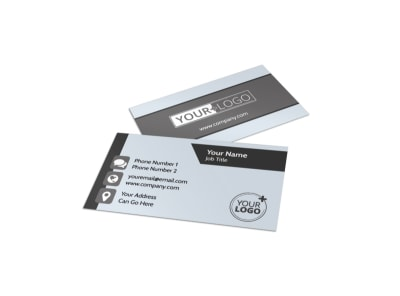 Seed Company Business Card Template