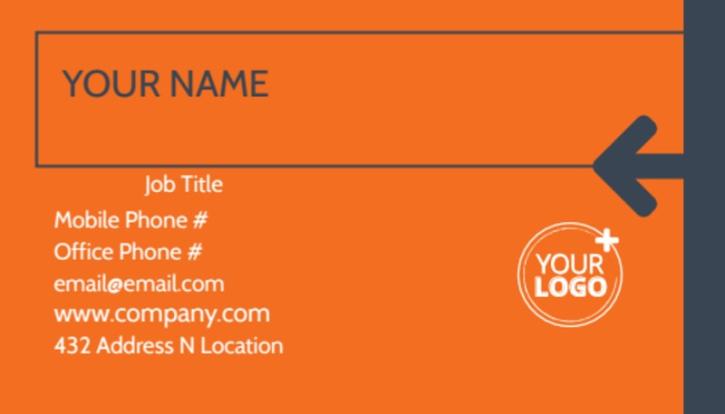 Moving Company Business Card Template Preview 2