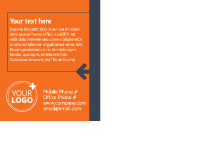 Moving Company Postcard Template Preview 2