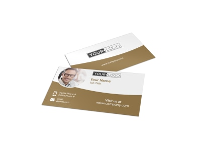 Classic Auto Sales Business Card Template preview