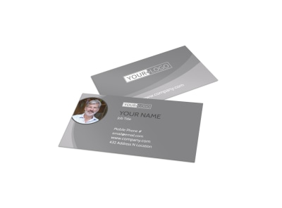 Custom Auto Painting Business Card Template preview