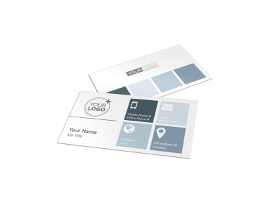 Custom Automotive Business Card Template preview
