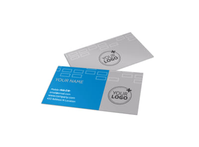 Bicycle Rental Service Business Card Template preview