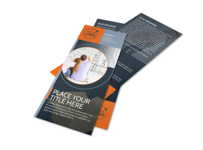 Premier Moving Service Flyer Template preview