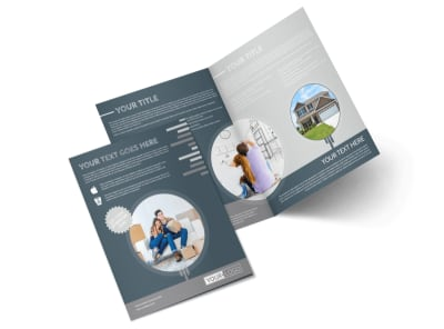 Apartment Moving Pros Bi-Fold Brochure Template