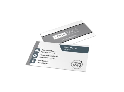 Apartment Moving Pros Business Card Template preview