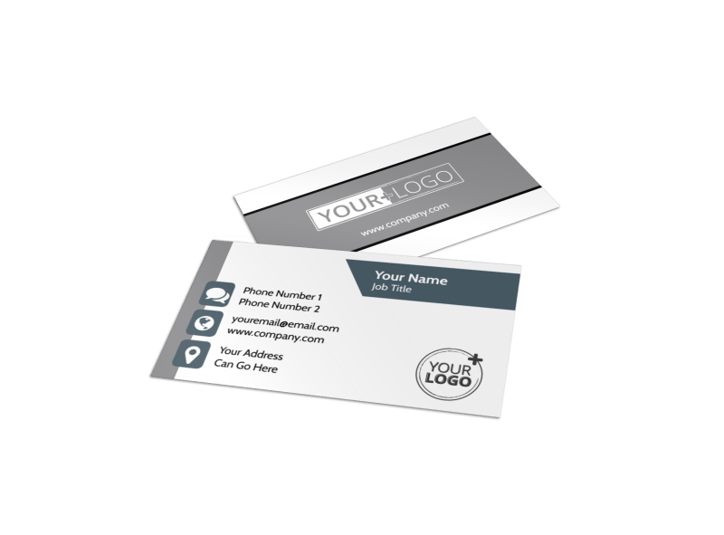Apartment Moving Pros Business Card Template Preview 1