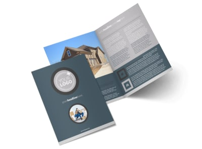 Affordable Moving Company Bi-Fold Brochure Template