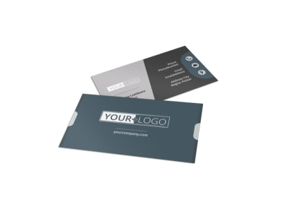 Affordable Moving Company Business Card Template preview