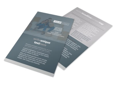 Affordable Moving Company Flyer Template