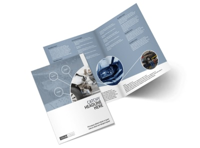 Collision Repair Center Bi-Fold Brochure Template preview