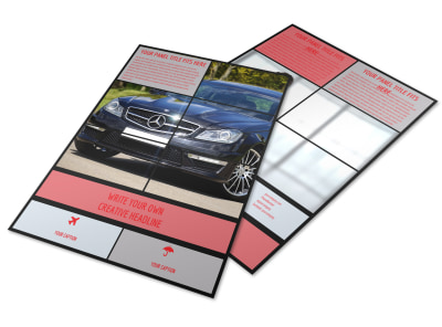 Luxury Vehicles Flyer Template