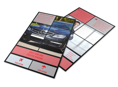 Luxury Vehicles Flyer Template preview