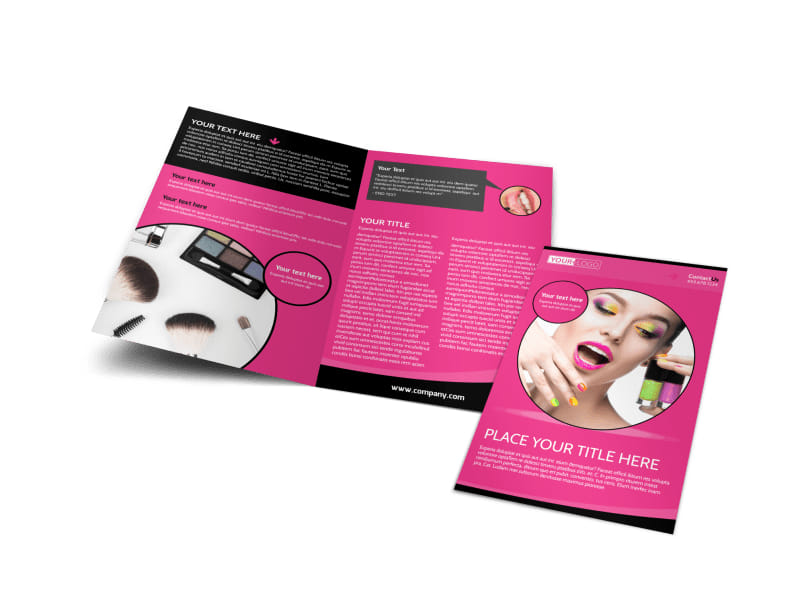 Beauty Supply Brochure Template Preview 4